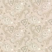 Moda North Woods by Kate Spain - 4801 - Scandinavian Style Partridges on Pale Beige - 27241 14 - Cotton Fabric